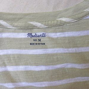 Madewell Tops - NEW Madewell Whisper Cotton V-Neck Pocket Tank M